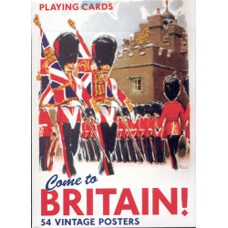 Ven a Gran Bretaña - Come to Britain playing cards