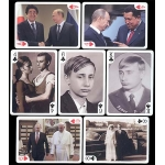 Vladimir Putin playing cards