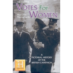 Votos para las mujeres - Votes for Women playing cards