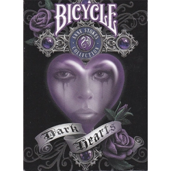 Dark Hearts Anne Stokes Collection Bicycle playing cards