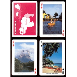 Baraja Turística de Venezuela playing cards