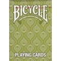 Peacock Green Bicycle playing cards
