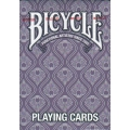 Peacock Purple Bicycle playing cards