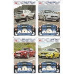BMW playing cards