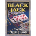 Black Jack Casino playing cards