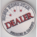 Ficha Dealer Hong Kong Star - Dealer Button