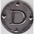 Ficha Dealer D - Dealer Button Limited Edition
