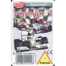 Formel 1 MegaTrumpf playing cards