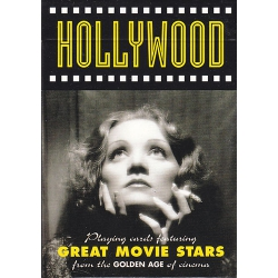 Hollywood Movie Stars playing cards