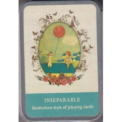 Inseparable playing cards