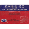 Juego Kan-U-Go - The Crossword card game