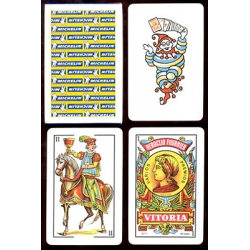 Baraja Michelín playing cards