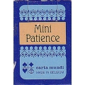 Mini Patience poker azul