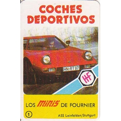 Minis: Coches deportivos