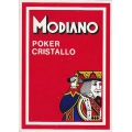 Modiano Poker Cristallo rojo