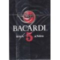 Bacardi Ron 5 años