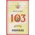 Brandy de Jerez 103 Solera Osborne