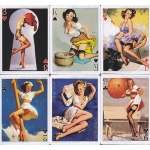Chicas Pin Ups - Gil Elvgren playing cards