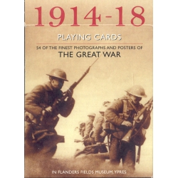1914-1916 Primera Guerra Mundial - I World War playing cards