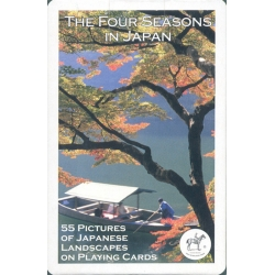 Las 4 estaciones en Japón - The Four Seasons in Japan playing cards