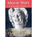 Artistas de Cine Clásico - Movie Stars playing cards