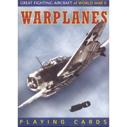 Aviones de La Segunda Guerra Mundial - Warplanes playing cards