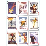 Carteles de Ski - Ski Art playing cards