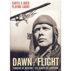 Pioneros de la Aviación - Dawn of flight playing cards