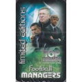 Football Managers Limited Edition Top Trumps