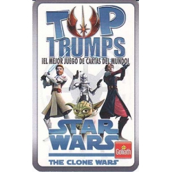 Star Wars The Clone Wars Top Trumps