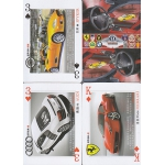 Coches Famosos del Mundo - World Famous Cars playing cards